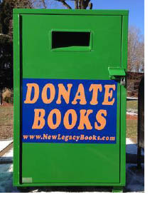 Donate Books Fundraising with Legacy Books in Hackettstown NJ