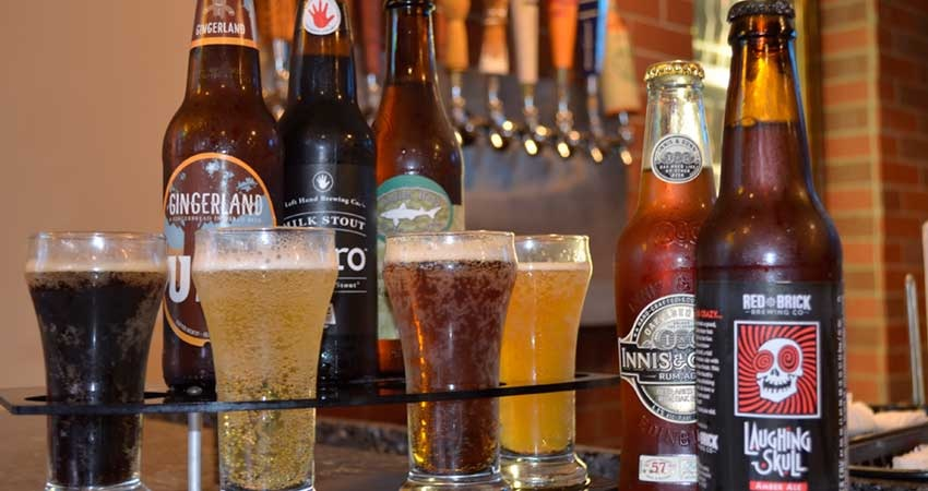 craft beer from Legends Tavern and Grille in Deerfield Beach, FL; sports bars near Ft. Lauderdale
