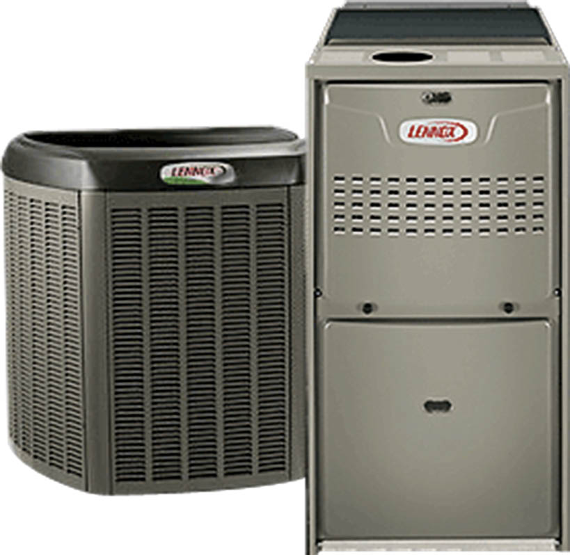 Install new air conditioning units near Trout Valley