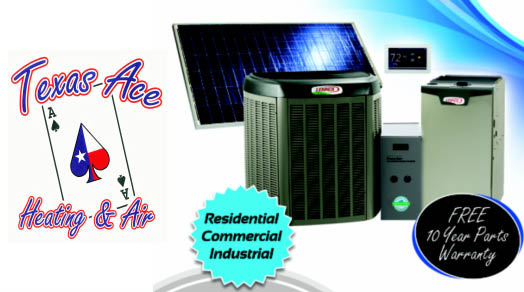 AC & Heating Units sold here.
