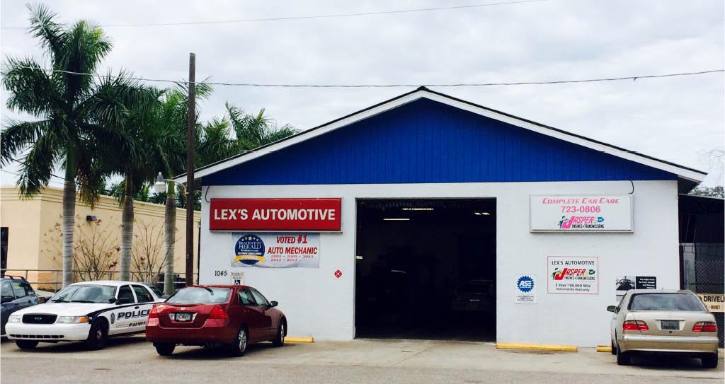 Lex's Automotive in Palmetto, FL - An ASE Certified Technician facility