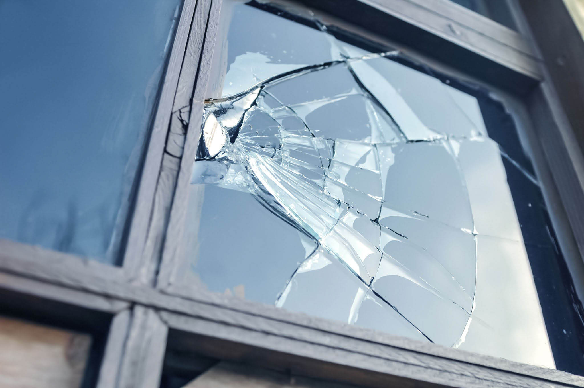 Liberty Glass & Blinds in Tacoma, WA can repair your broken window - window repair - window replacement