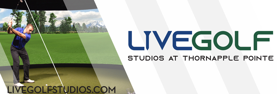 LiveGolf VR virtual reality thornapple point golf indoor golf