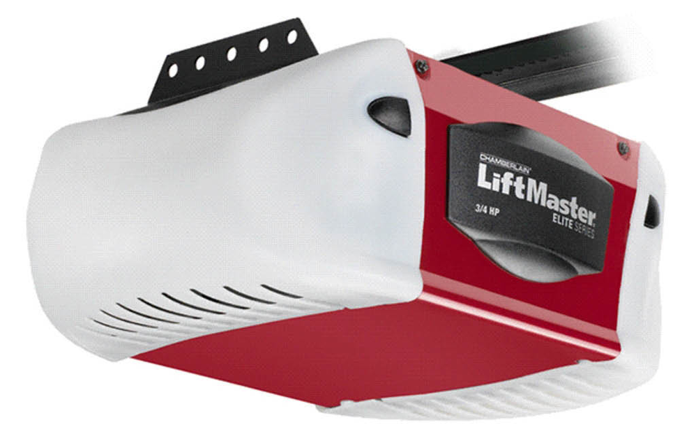 Liftmaster garage door opener unit; A-Authentic Garage Door Service