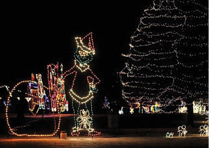light up middletown christmas holiday drive thru light display middletown ohio