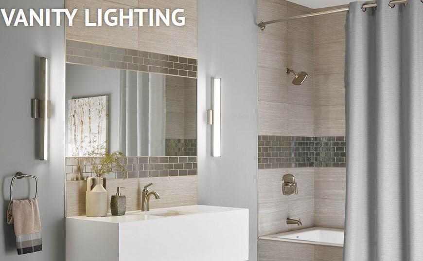 bathroom lights; makeup mirror lighting; vanity lights in Yonkers, NY