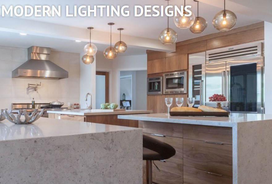 designer kitchen lighting; ceiling lights; specialty lighting