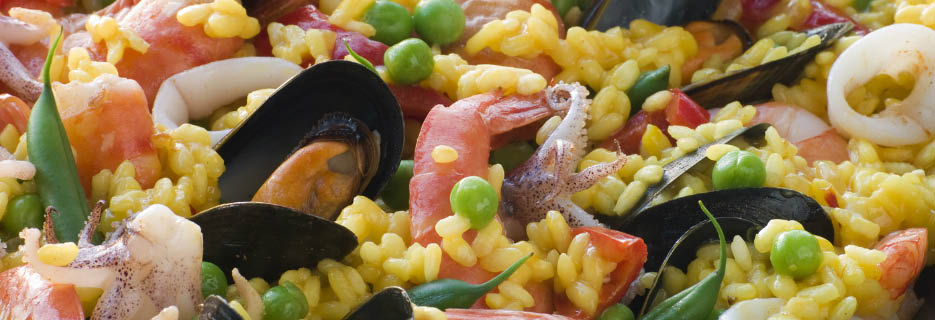 Lima Peruvian Cuisine in Concord, CA Seafood Paella banner image