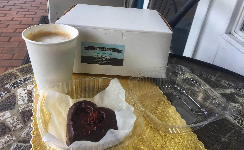 Enjoy espresso and delicious pastries from Lina's Bakery in Redmond, WA - Redmond bakery near me - Redmond bakeries near me - coffee near me - bakery coupons near me