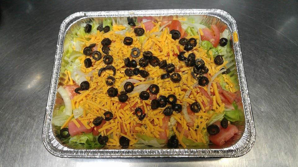 Lindy's offers catering services including our delicious salad tray