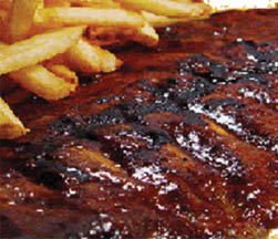 Try a slab of ribs from our dinner menu item