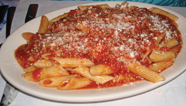 Our Chicago Italian restaurant menu item includes Pasta