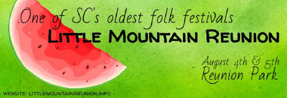 The Little Mountain Reunion in Little Mountain, SC Banner Ad