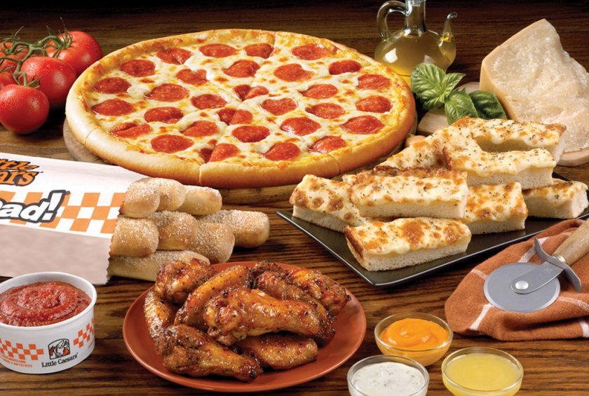 little caesars pizza $5 hot and ready pizza toledo ohio maumee  quick dinner options carry-out