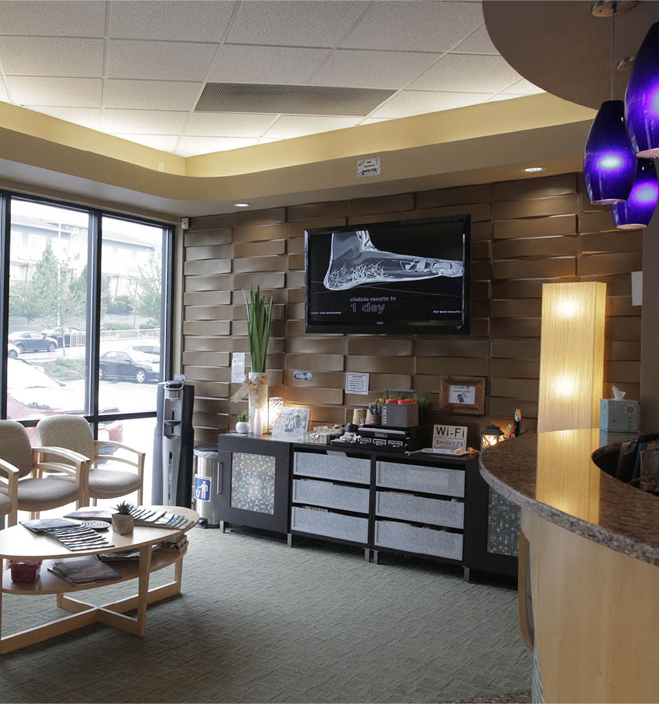 Beautiful lobby of Cascade Orthodontics in Federal Way, Washington - Federal Way orthodontics offices near me - orthodontists in Federal Way - Federal way orthodontists near me
