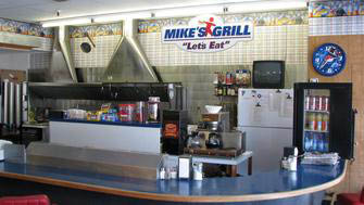Mike's Grill located in Logan Lanes bowling alley in Cache Valley