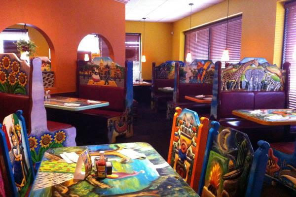 Lomas Del Sol, inside restaurant