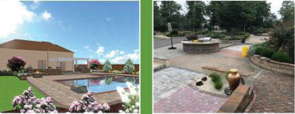 Longford Landscape, landscaping, hardscape, pavers