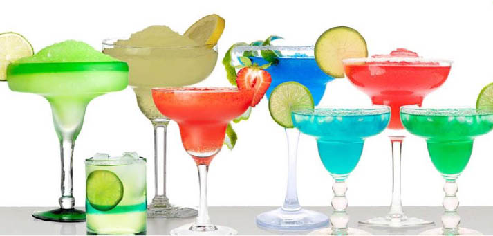 Find an assortment of cocktails at Los Faroles Mexican Restaurant in Houston, TX.