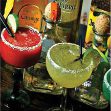 photo of margaritas from Los Tres Amigos in Lansing, MI