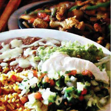 photo of combo meal from Los Tres Amigos in Lansing, MI