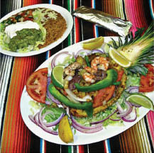 photo of combo platter from Los Tres Amigos in Lansing, MI