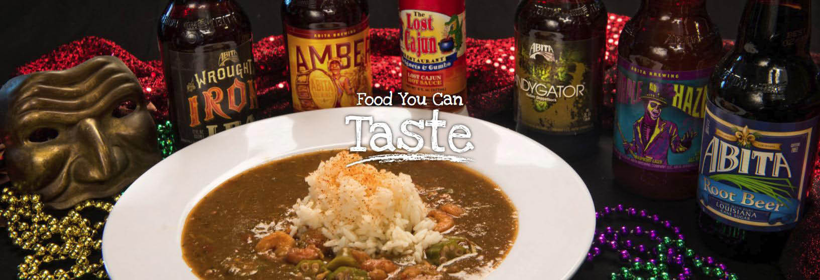 The Lost Cajun Restaurant Banner Image