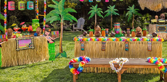 Outdoor party supplies
