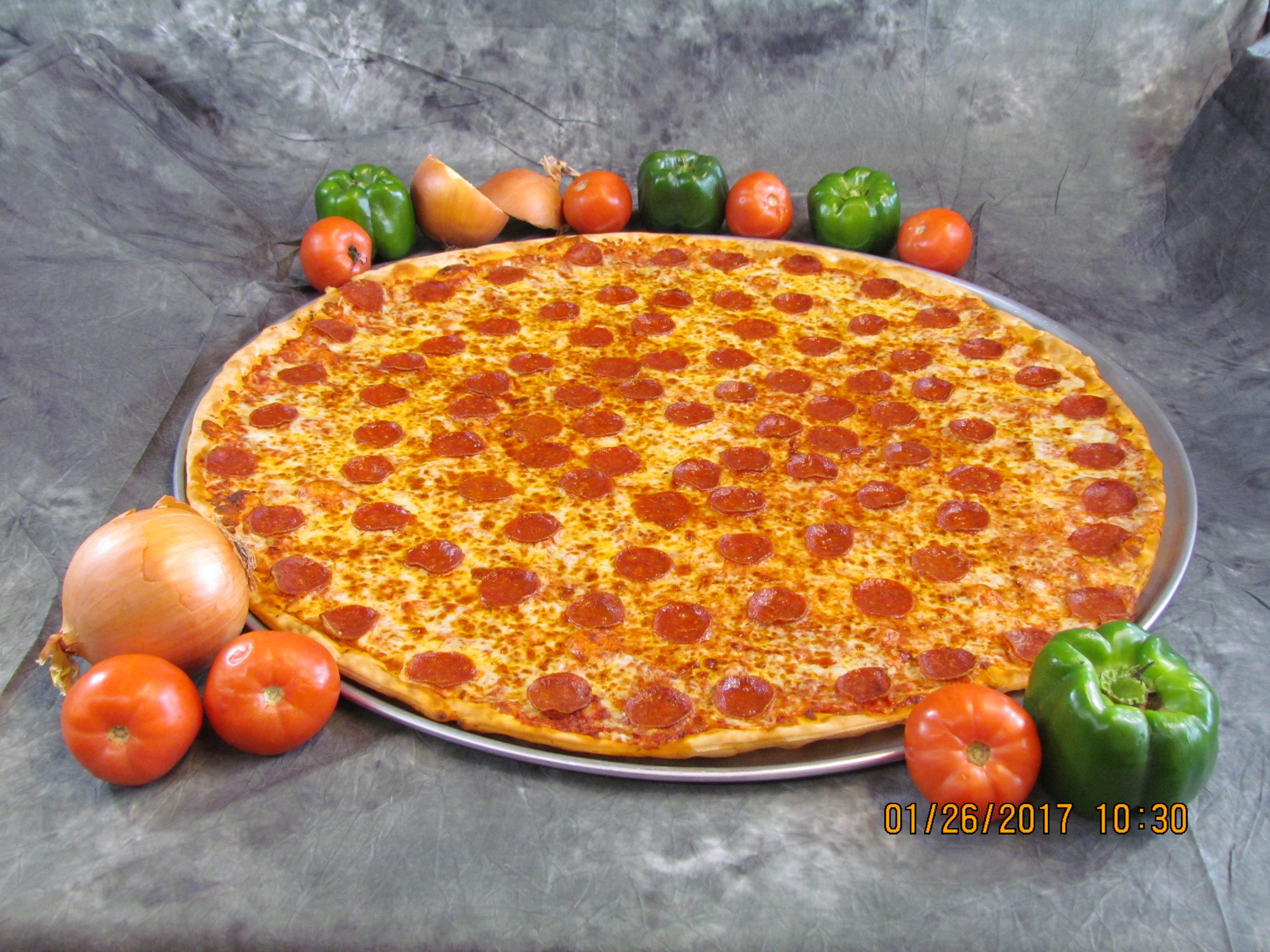 Delicious Luigi's Pizza served at your next family event