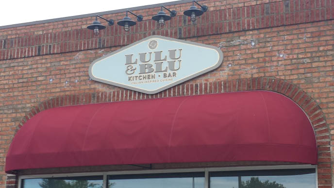 Lulu and Blu Kitchen and Bar is an Italian Cuisine inspired restaurant in High Point NC