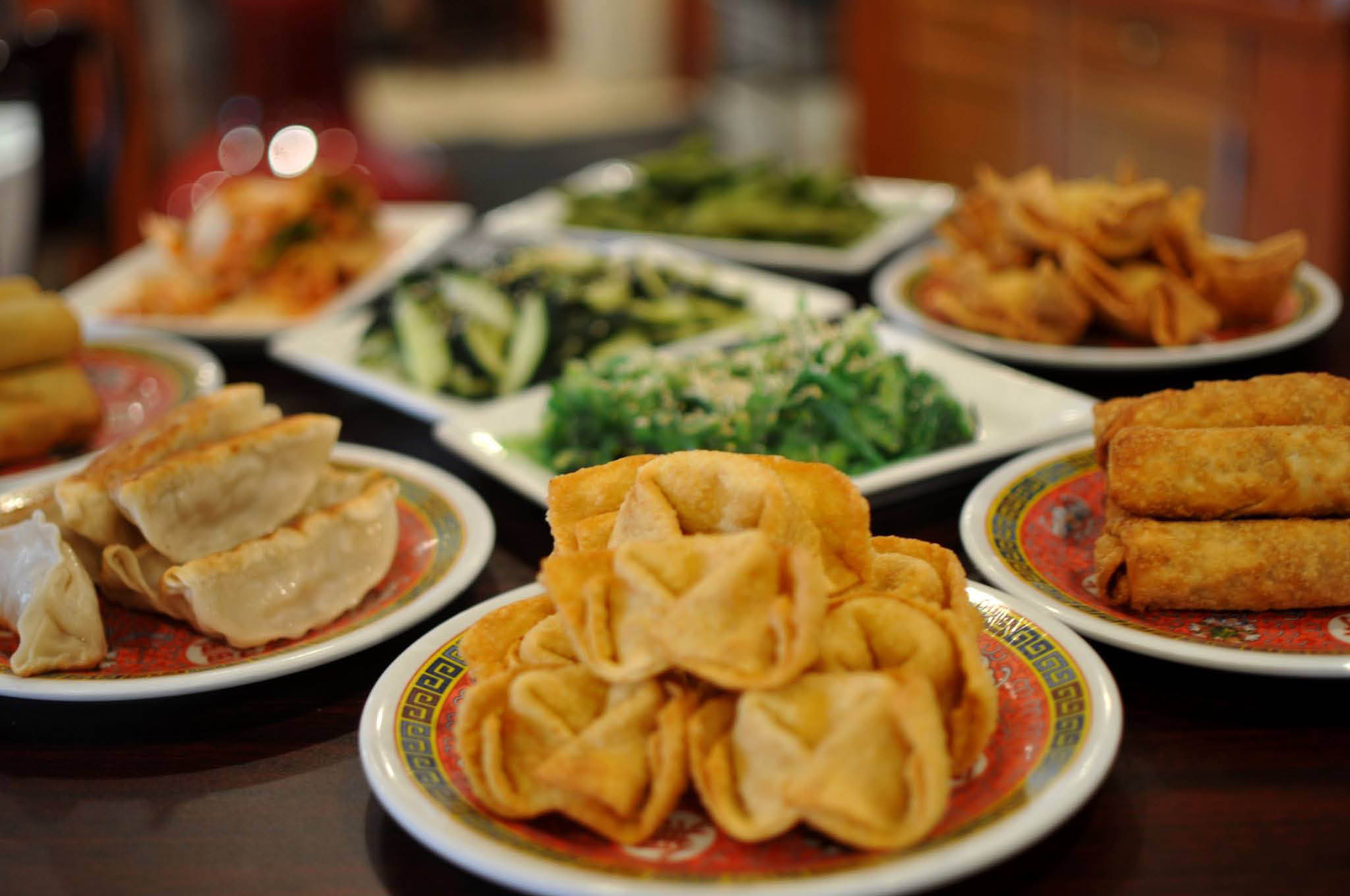 Try all of our Asian dishes