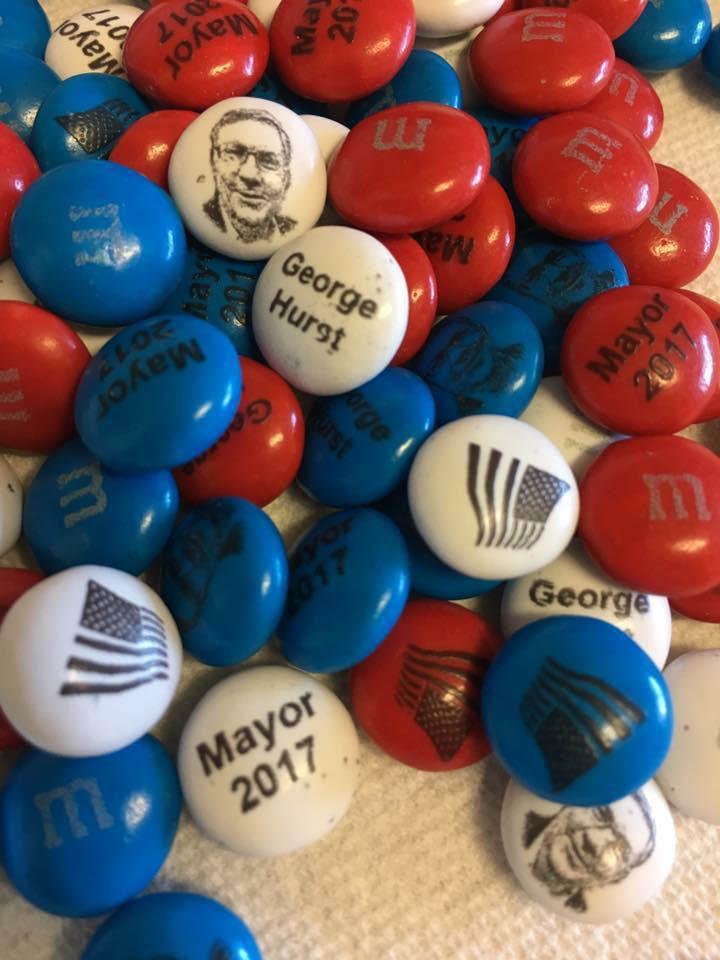 M & Ms - Vote for George Hurst as Mayor of Lynnwood