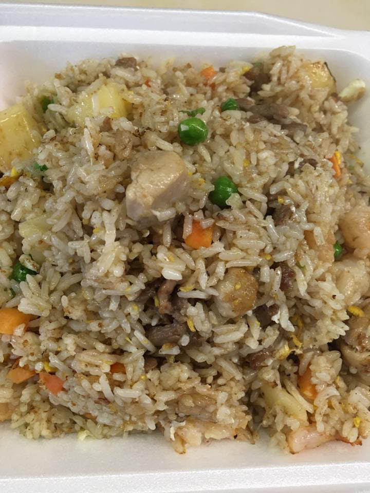 Delicious fried rice from Johnny's Wok Chinese Restaurant in Lynnwood, Washington - Chinese food near me - Chinese food delivery near me - Lynnwood Chinese restaurants near me