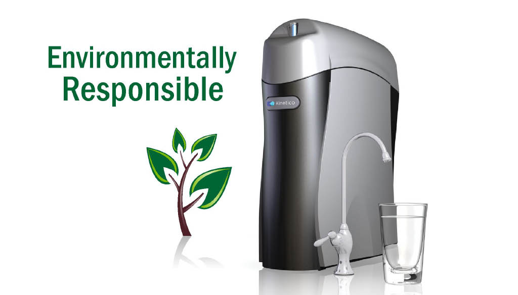 Water filtration systems that are environmentally responsible