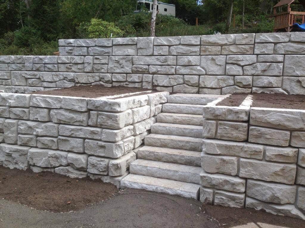 retaining walls, rock walls