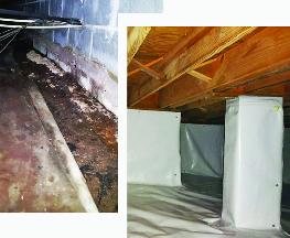 Before & after crawl space repair