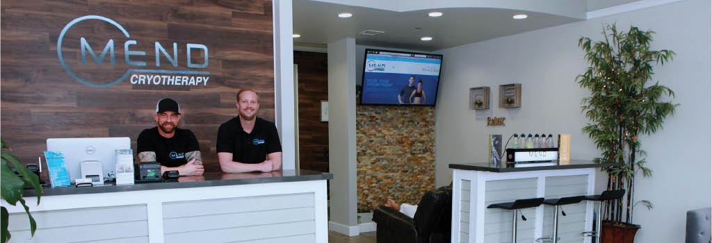 Mend Cryotherapy in Valencia, CA banner