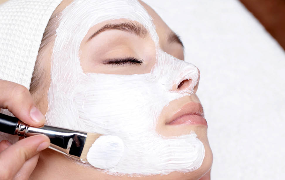 Peel off face mask, skin care
