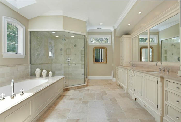 Bathroom grout scrubbing in Tamarac