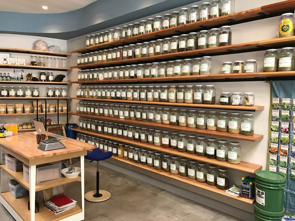 Supplements and herbs for sale at Mother Nature's Remedy
