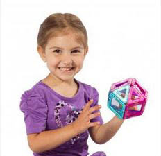 photo of girl with Magformers from Magformers LLC in Canton, MI