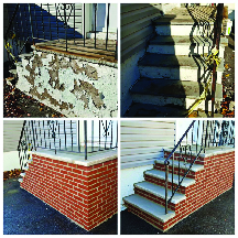 New steps by Magic Improvements in Morristown NJ