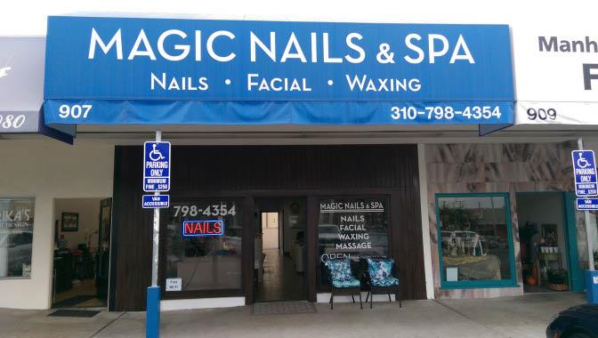Nail salon in Manhattan Beach