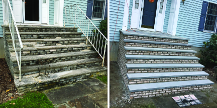 New Steps by AAA Apex Construction in Morristown NJ