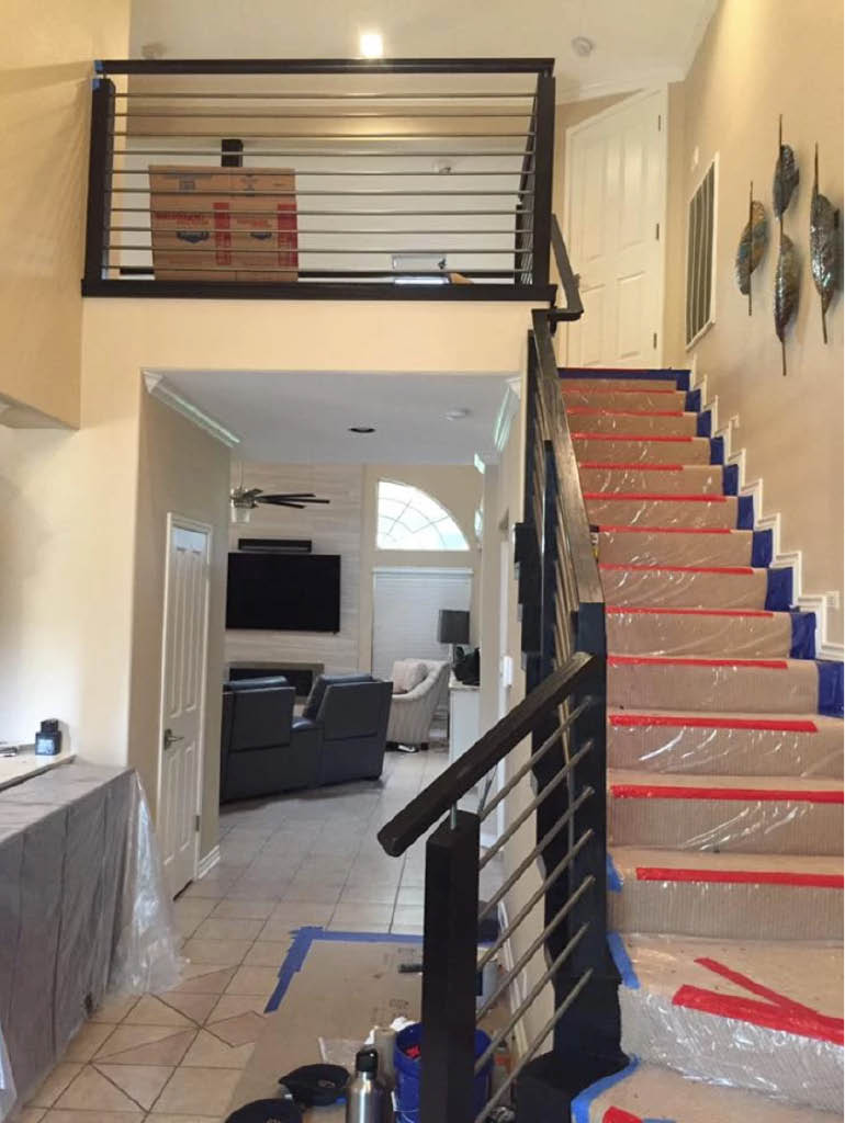 Magna Painting Residential Painting Interior Stairs Image