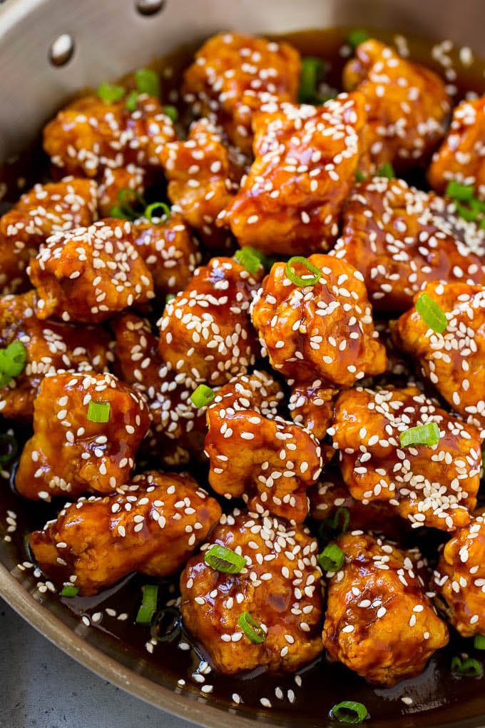 Main Moon Chinese Restaurant Racine WI Sesame Chicken