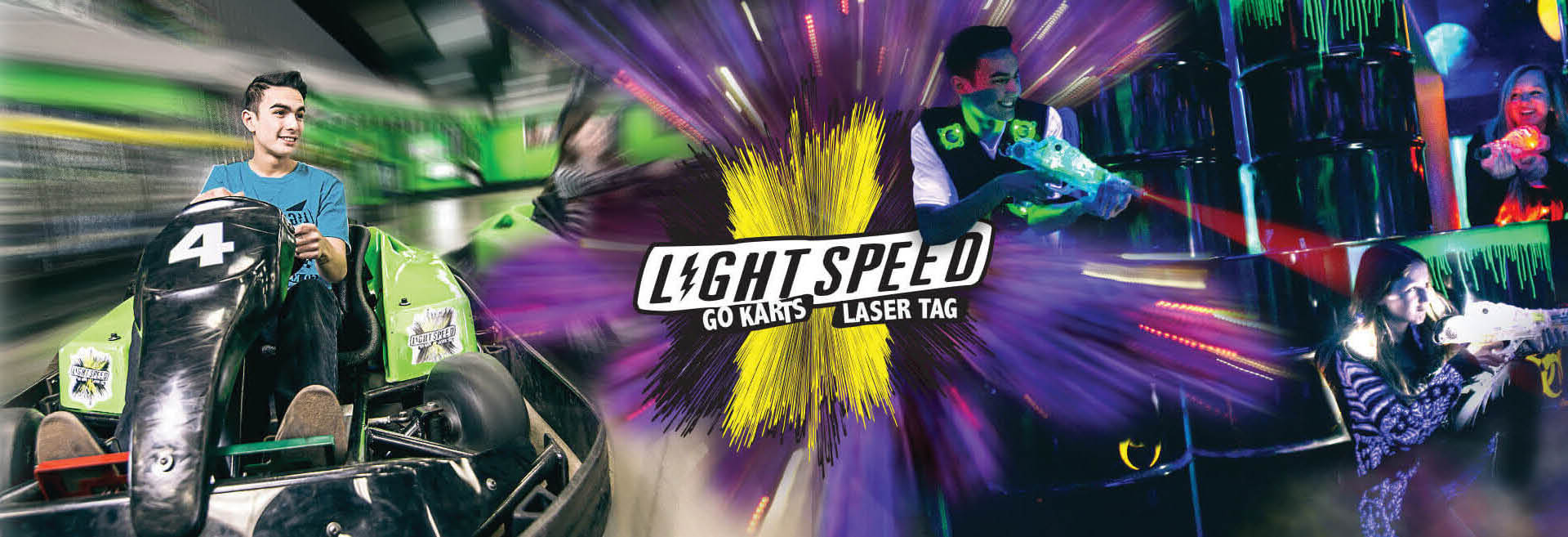 Picture of Light Speed Entertainment is the go-carting and laser tag near Greenfield, wI