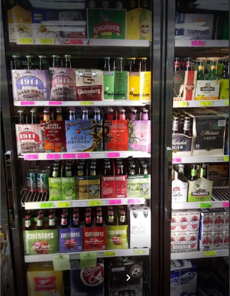 Huge assortment of Beers at Main Street Wine Cellars in Madison NJ