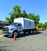 maldonado brothers tree service truck