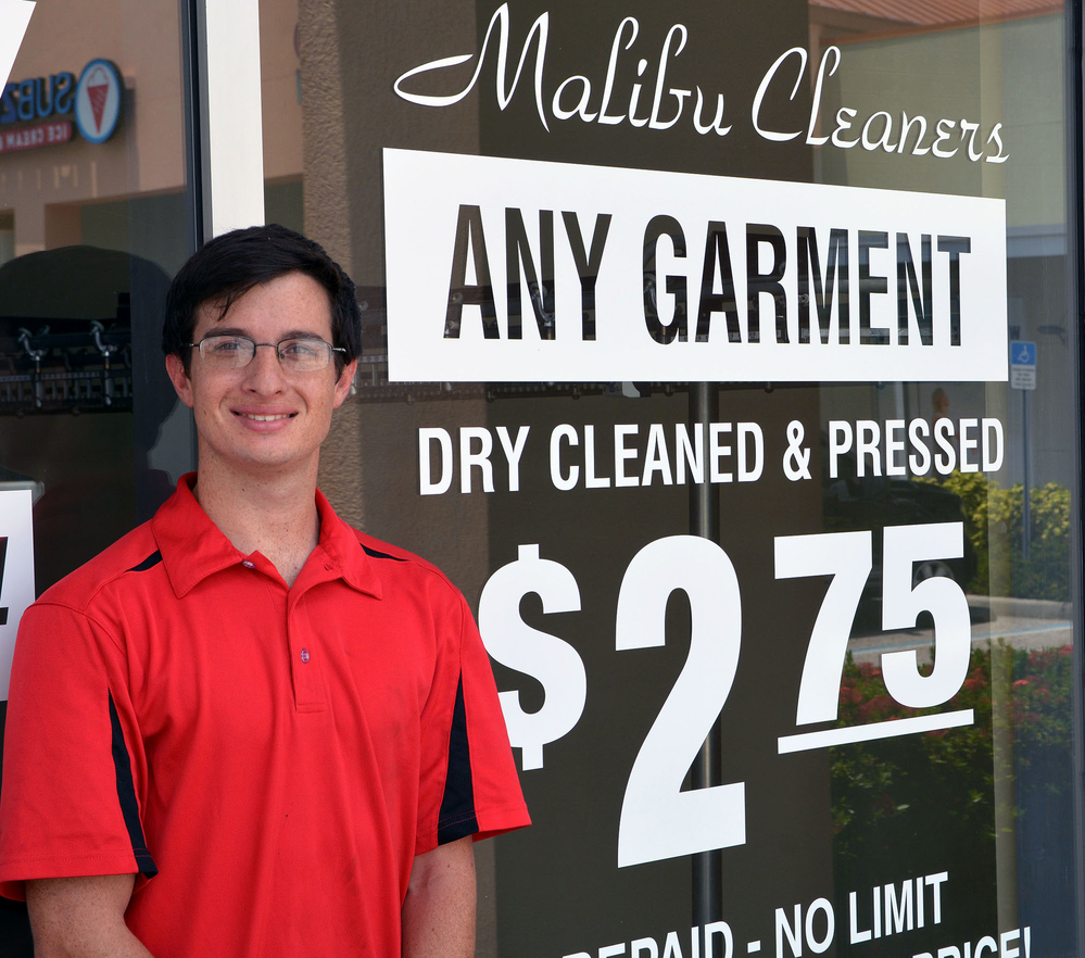 Alterations and export tailoring on any garment available at Sarasota Dry cleaners